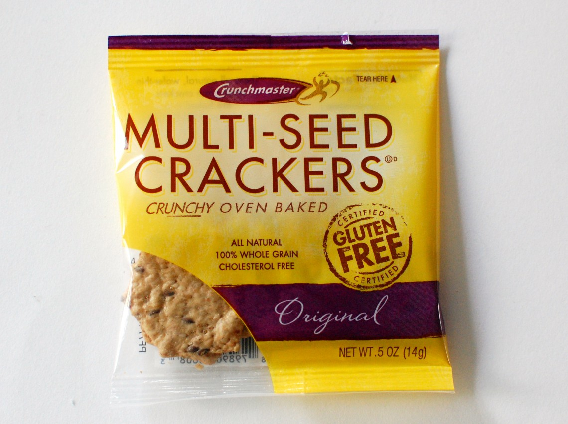 Seedy crackers.