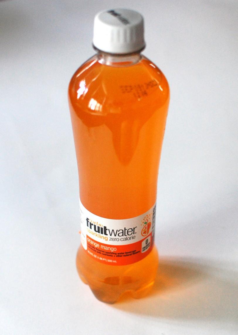 Water. Orange water.