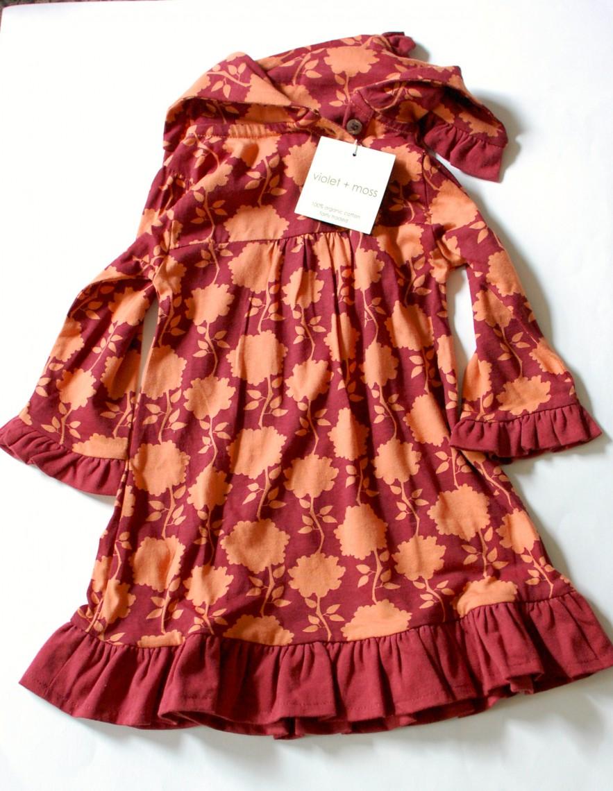 Violet + Moss dress
