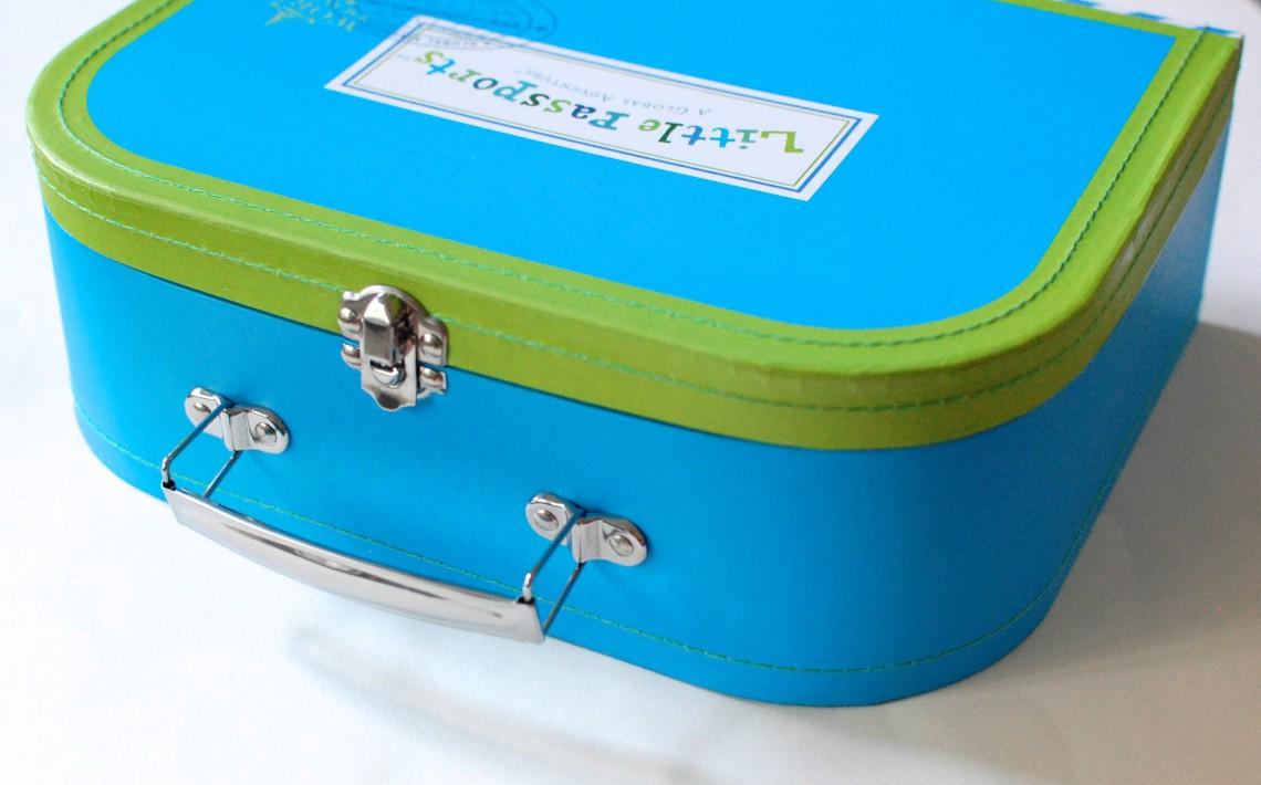 The mini suitcase