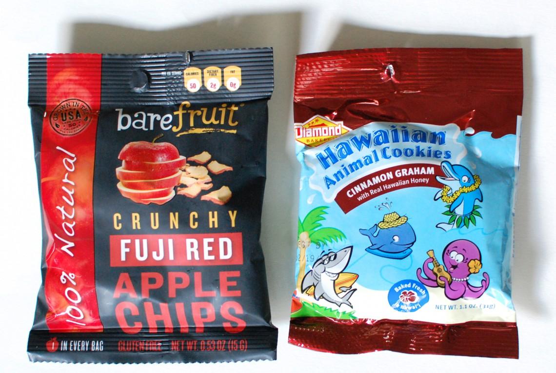 Apple chips & cookies