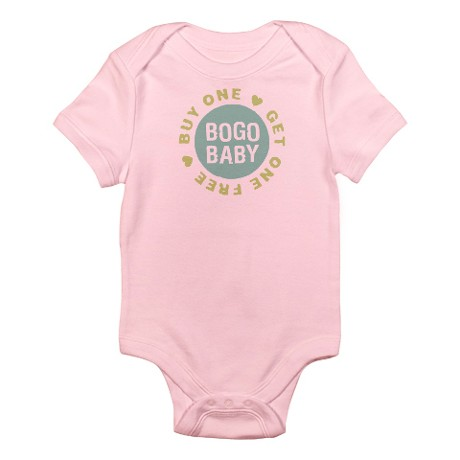 """Thanks to Mr. Google, I now know that I'm not the only one who uses the phrase """"BOGO babies""""."""