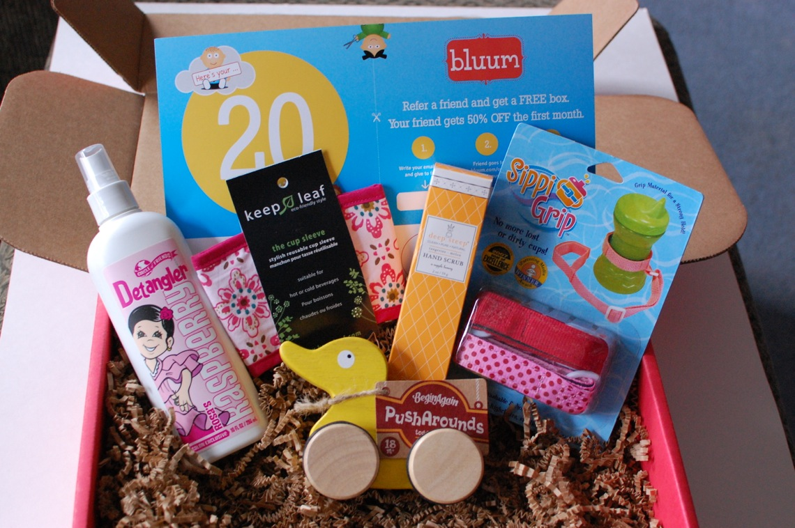 bluum March 2014 Box