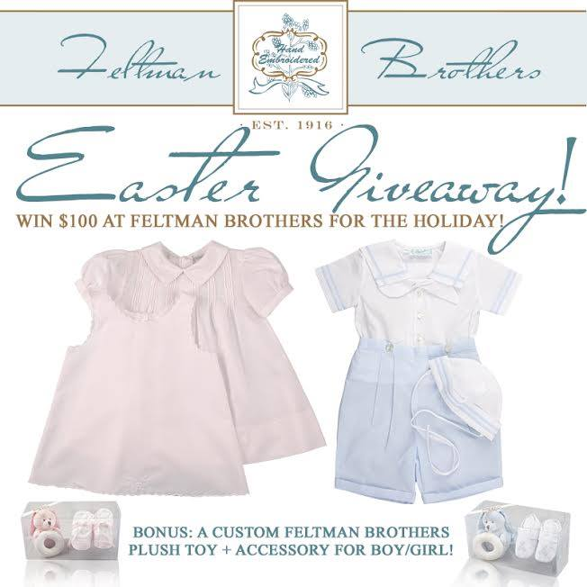 Feltman Brothers Easter Giveaway