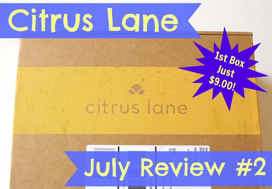 Citrus Lane July 2014 review