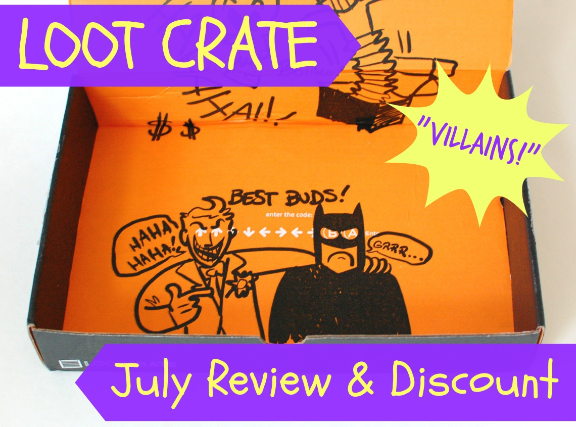 "Loot Crate ""Villians"" box review"