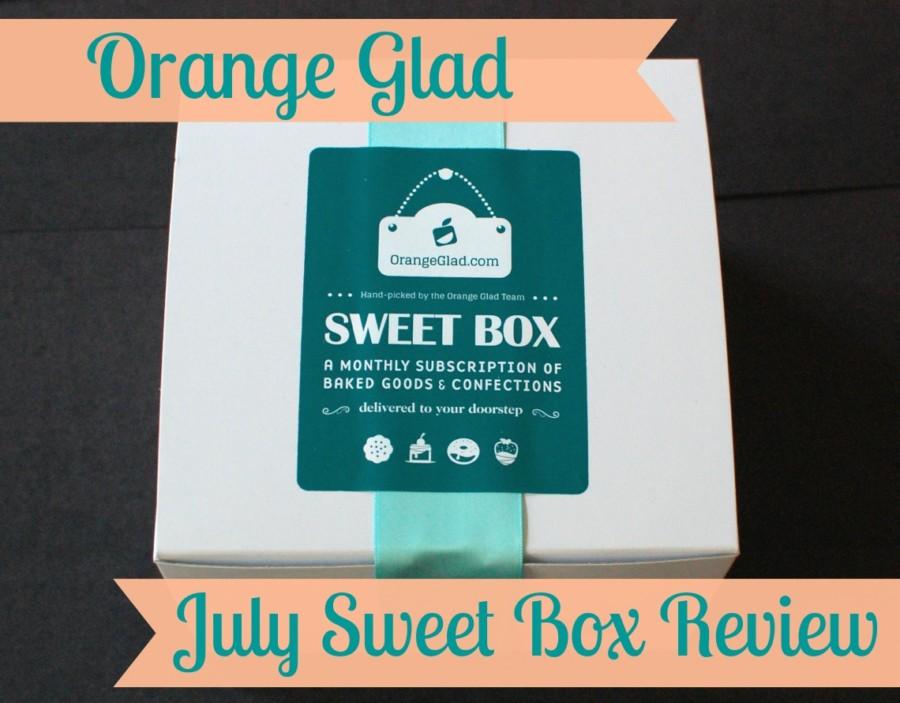 July 2014 Orange Glad Sweet Box