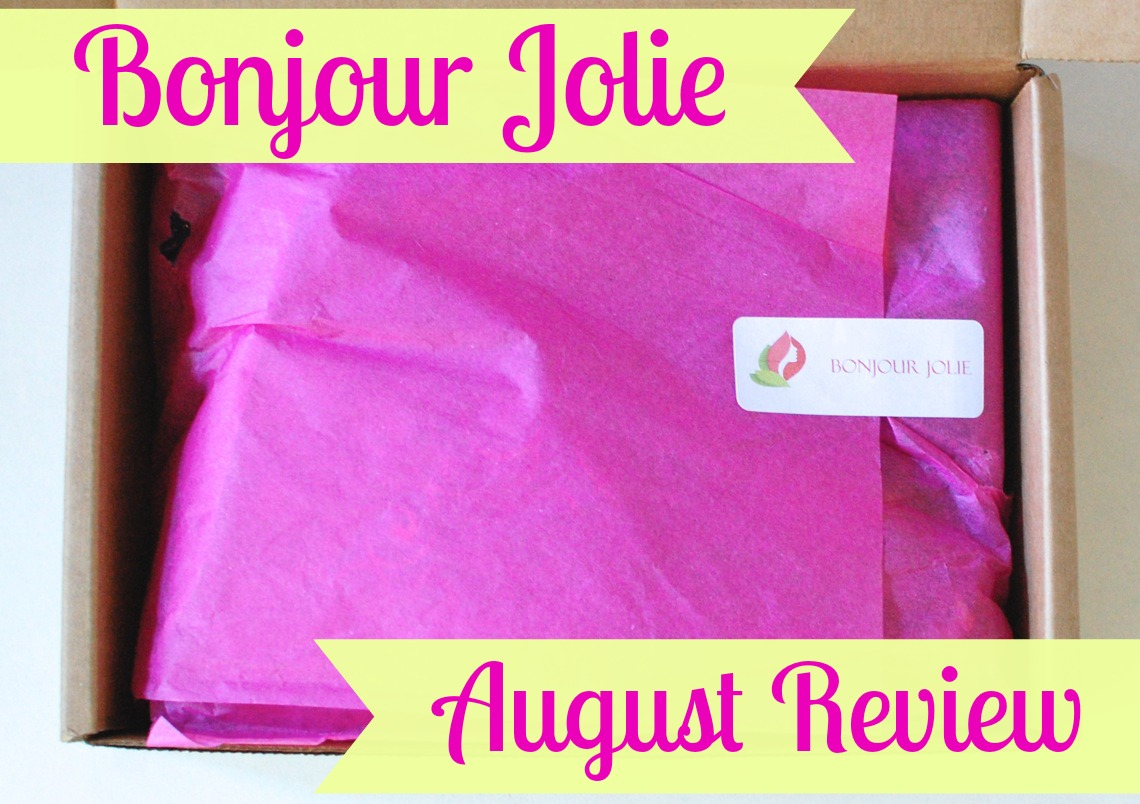 Bonjour Jolie August Review