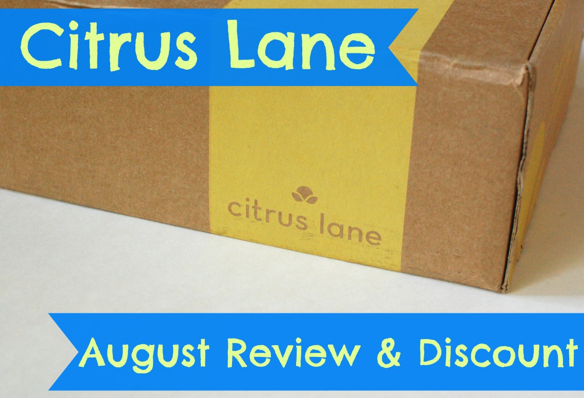 Citrus Lane August 2014 review