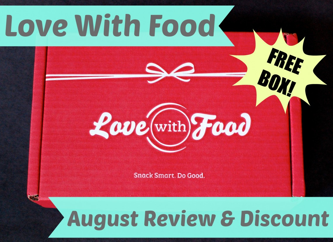 Love With Food August review & discount for free box