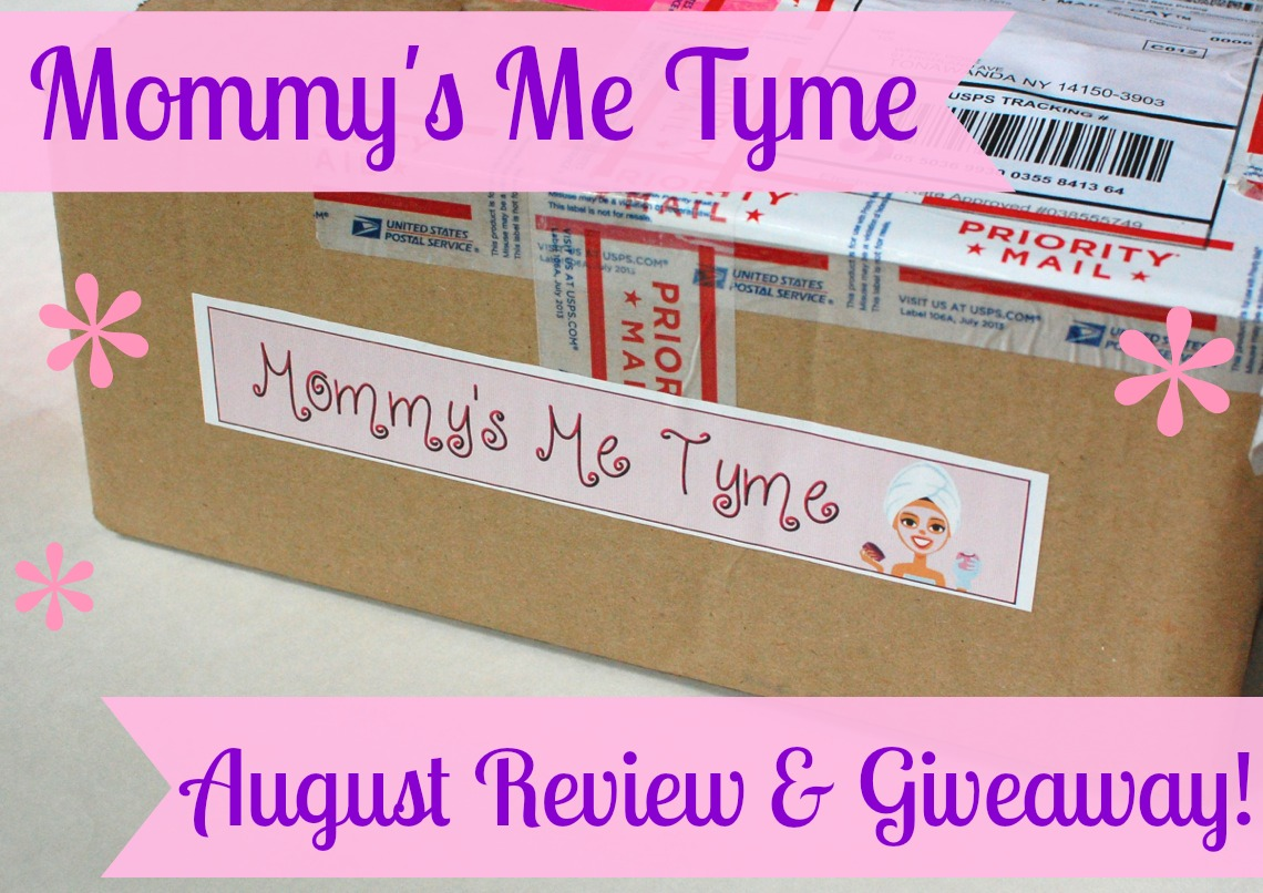 Mommy's Me Tyme review & giveaway.