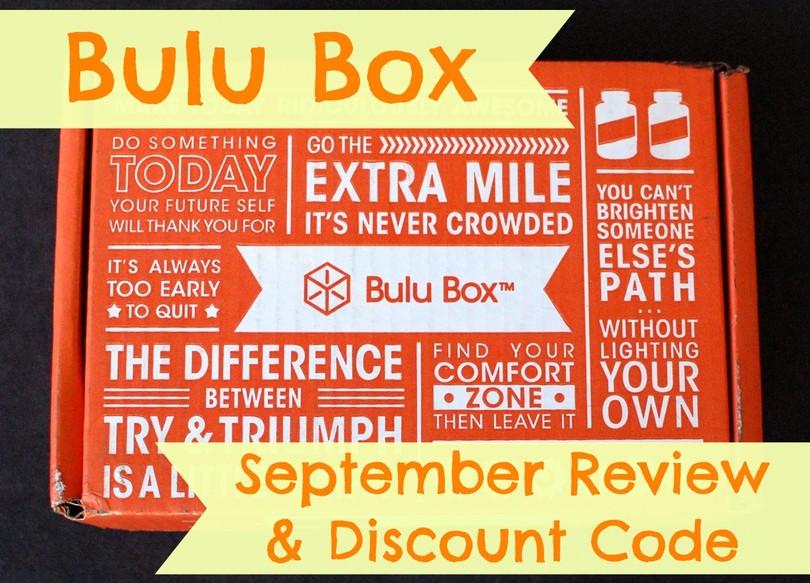 Bulu Box September review & discount code