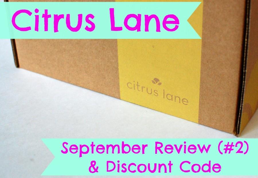 Citrus Lane September 2014 Review & Discount Code