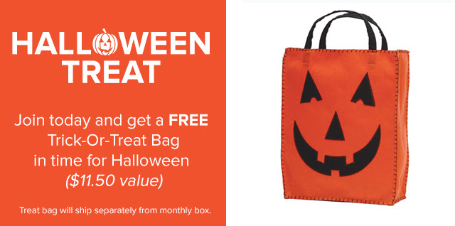 Get a free halloween bag when you sign up for Citrus Lane.