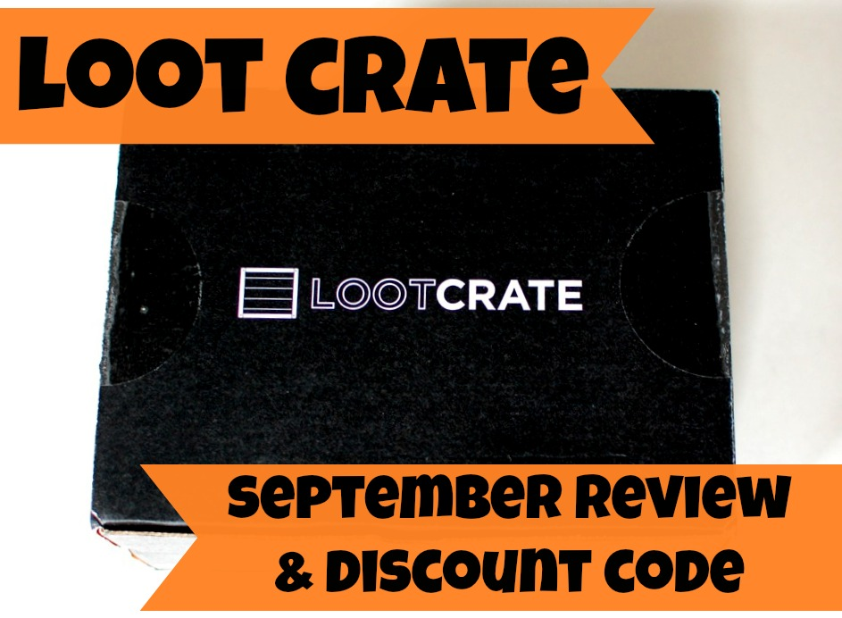 Loot Crate September review and discount code.