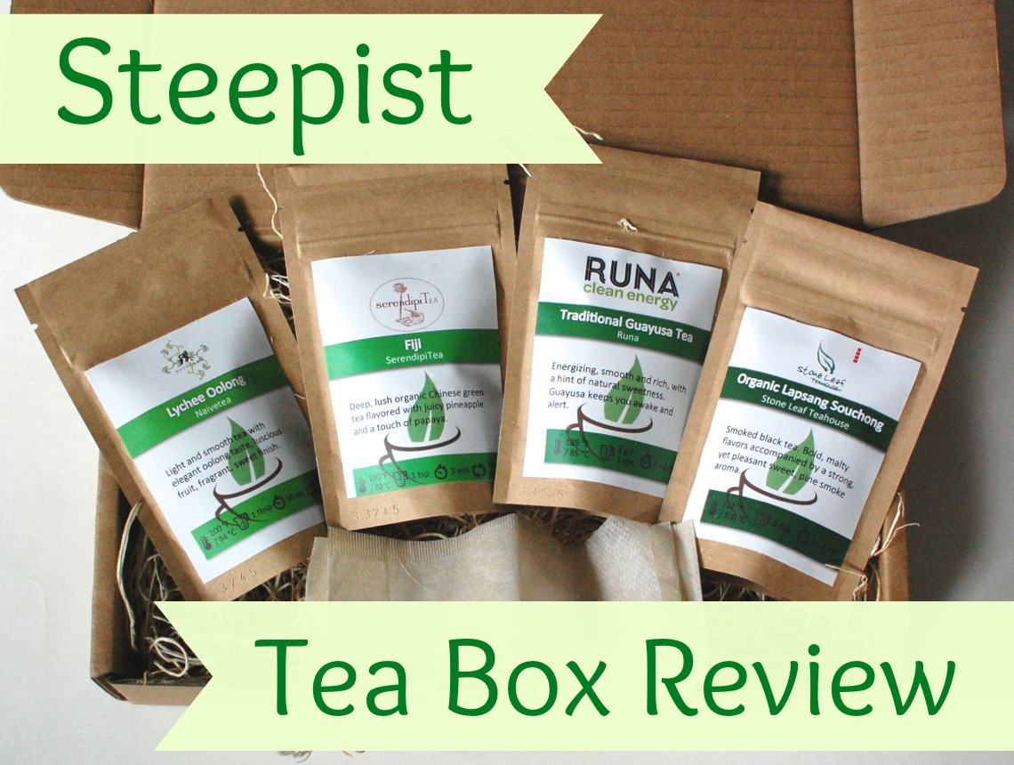 Steepist Tea Box review