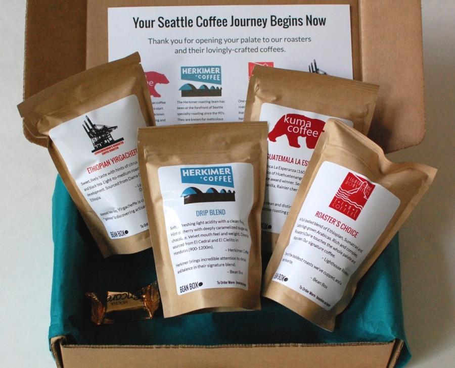 Bean Box coffee subscription box