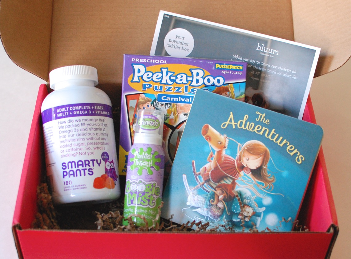 bluum November 2014 box review