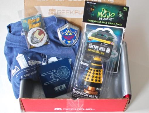 January 2015 Geek Fuel box