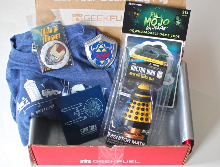 Geek Fuel January 2015 Review