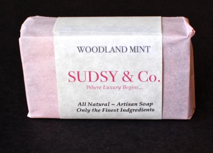 Woodland Mint soap