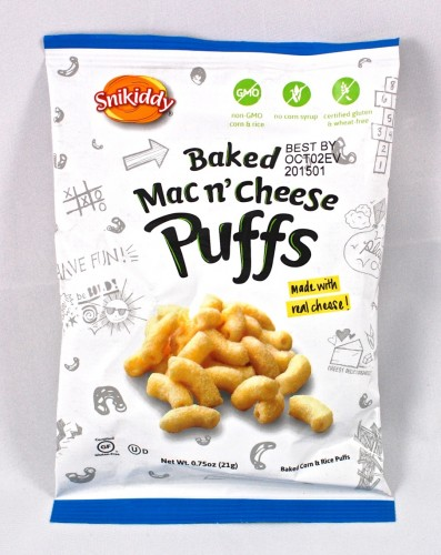 Snikiddy Mac N Cheese puffs