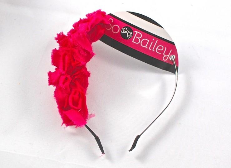 roses headband