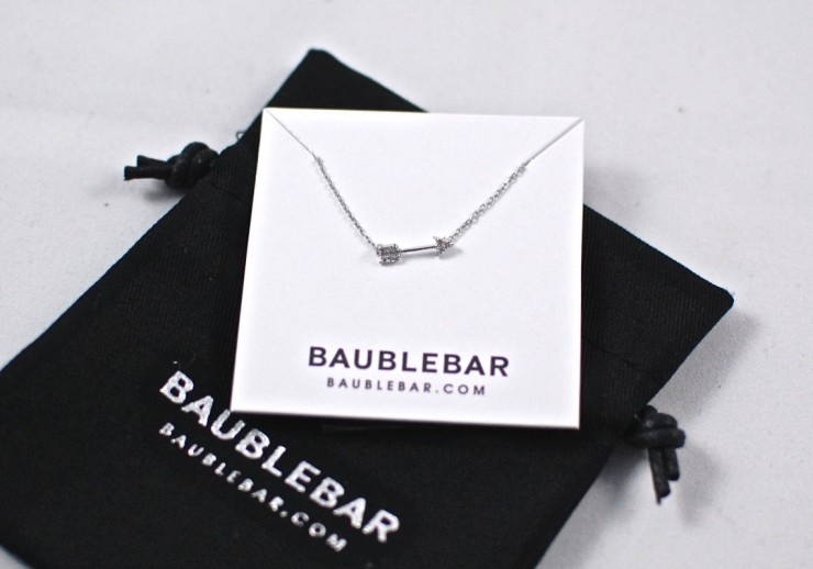 BaubleBar arrow necklace