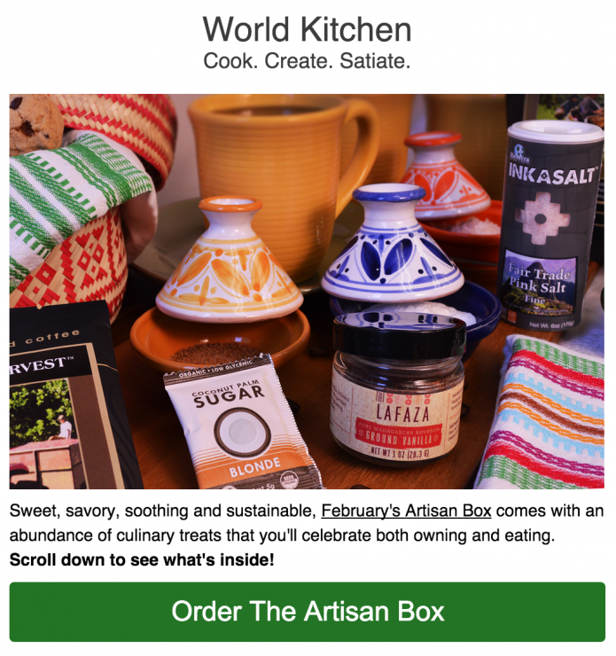 Globein kitchen box