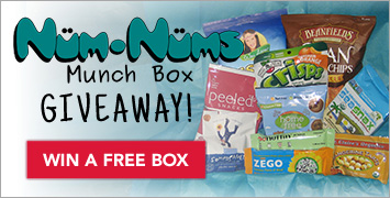 Enter to Win a Free Num-Nums Munch Box