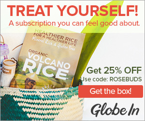 Get 25% Off GlobeIn - Use code ROSEBUDS