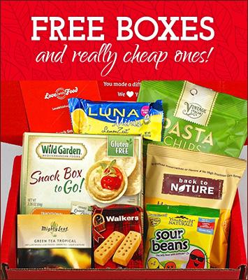 Free Subscription Box List
