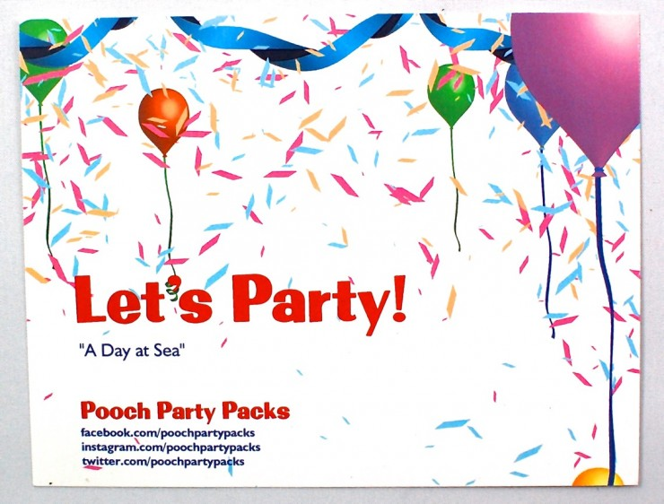 Pooch Party Packs April