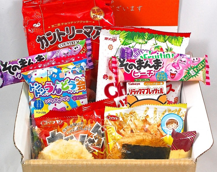 Nandemobox April 2015 Japanese Snack Box Review