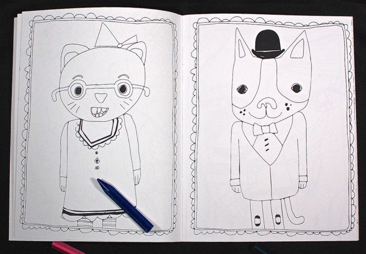 coloring book subscription