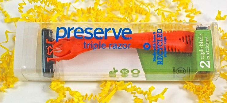 Preserve razor