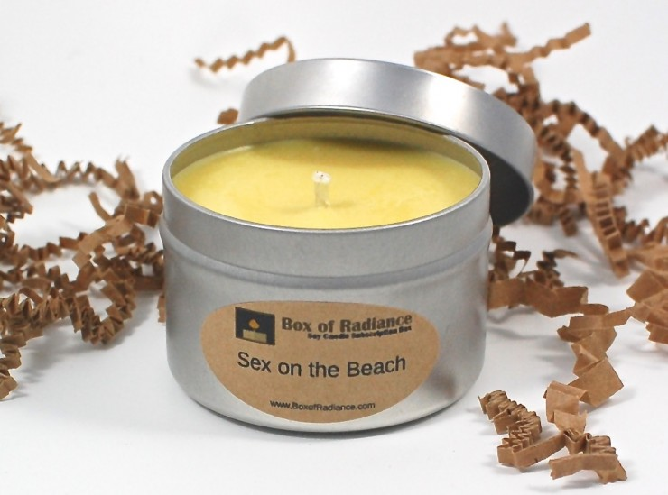 Sex on the Beach candle