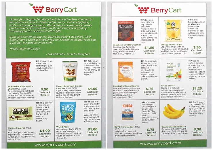 Berry Cart subscription