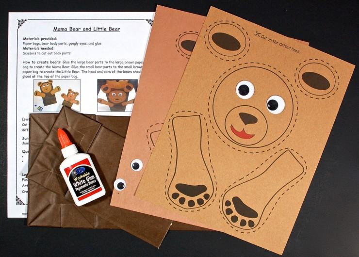 mama bear and baby bear bags