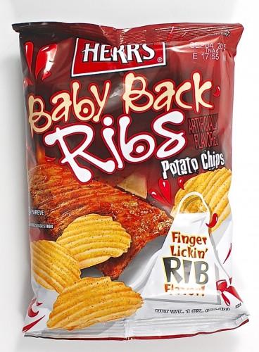 Herr's Baby Back Ribs chips