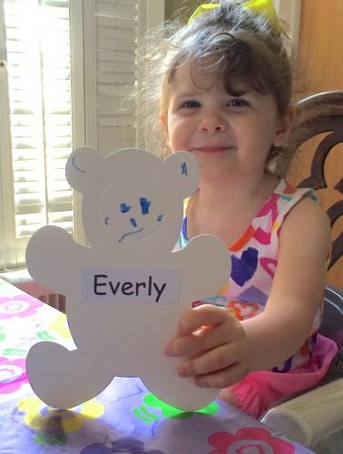 Evie bear