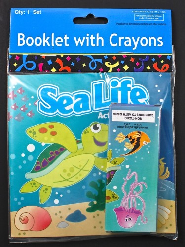 sea life coloring book