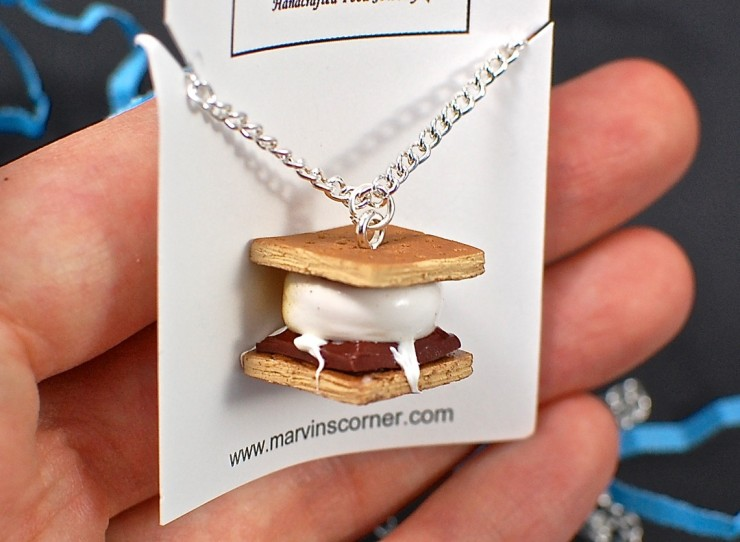 S'mores necklace