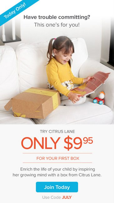Citrus Lane coupon