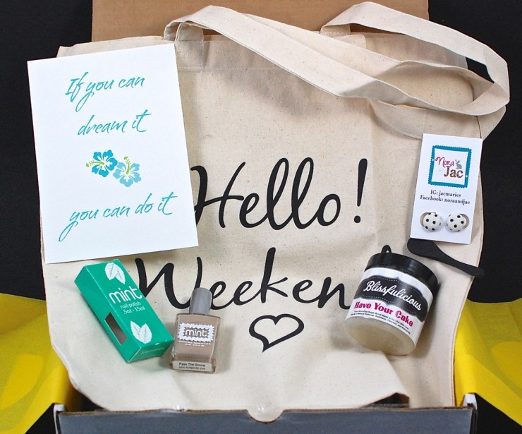 Hello! Bliss Box August 2015 Review