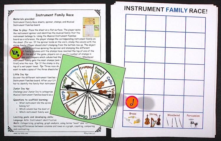 instrument family race