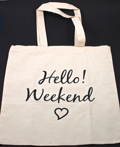 Hello Bliss tote