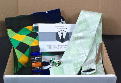 Dapper Box July 2015 Review