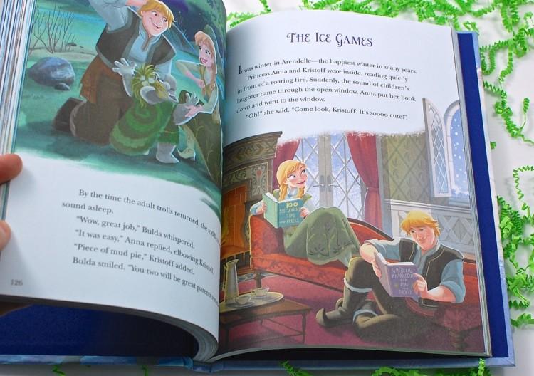 Frozen 5 minute stories