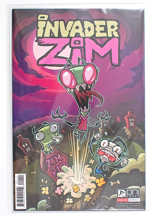 Invader Zim comic
